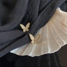 2020 Korean Retro Acrylic Butterfly Earrings Fashion Cute Animal Brincos Statement stud Earrings Jew