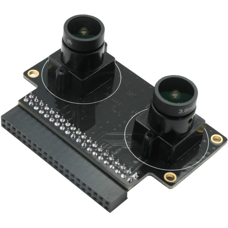 ALINX AN5642: 5MP OV5640  Binocular Camera Module for FPGA Board enlarge