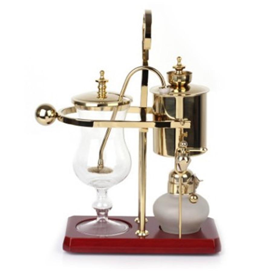 ماكينة قهوة سيفون للتوازن الملكي وقطرة الماء ، ماكينة صنع القهوة البلجيكية ، سيفون ، ZP101015
