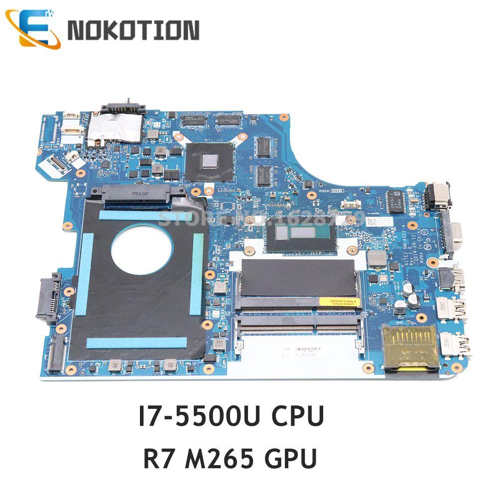 NOKOTION FRU 00HT646 AITE1 NM-A221 материнская плата для Lenovo ThinkPad E550 E550C материнская плата для ноутбука R7 M265 GPU I7-5500U CPU DDR3L