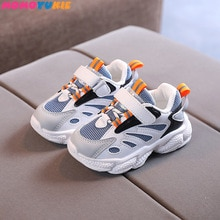 Children Shoes for Girls Sport Shoes Fashion Breathable children's Baby Shoes Soft Bottom Non-slip C