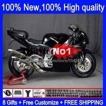 Body Voor Aprilia RS250 RSV250RR RS-250 RSV250 R 105MC.11 Rs 250 Zwart Glanzend Rsv 250 R Rr 1995 1996 1997 RS250R 95 96 97 Kuip