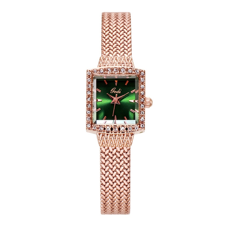 Watch Women Stainless Steel Belt Retro Fashion Small Square Ladies Watches Gifts Luxury Diamond Gold Watch Match Luxury Dresses enlarge