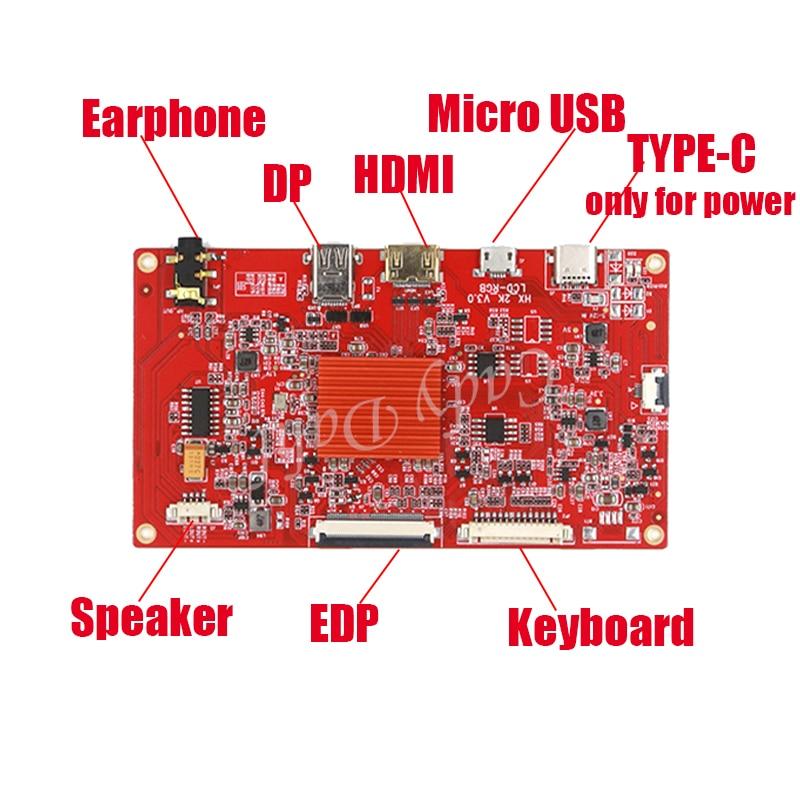 Placa controladora LCD HDMI EDP HD para iPad 5 Air, 9,7 pulgadas, LP097QX2-SPAV, LTL097QL02 A01 A02 1536X2048 EDP Panel de pantalla LCD