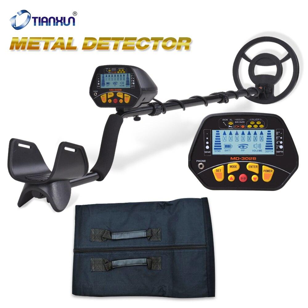 Detector de Metales GP Detector de Metales Detector de oro Detector de Metales profesional resistente al agua MD-3028 pantalla LCD