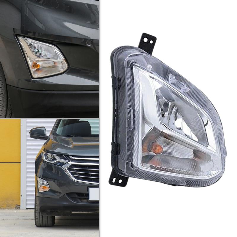 CITALL voiture Auto clair pare-chocs lampe antibrouillard côté droit en plastique adapté pour Chevrolet Equinox 2018