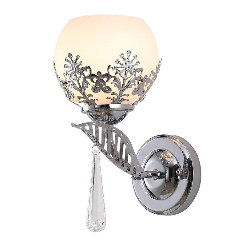 lampada de parede em ferro com led artesanal moderna para quarto cabeceira sala criativa