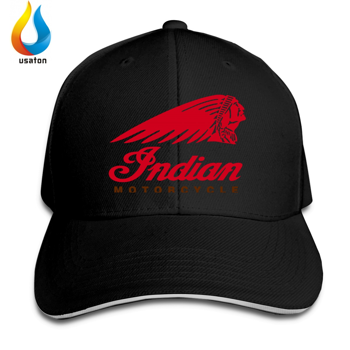 Индийские женские мужские бейсболки с логотипом Мотоцикла Женская Мужская Спортивная Солнцезащитная шляпа