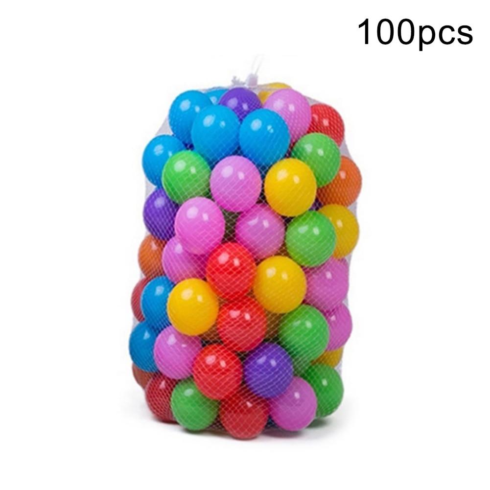 Шары Пластиковые цветные для детского бассейна, мячи для бассейна, океанская волна, Детские обручи для плавания, игровой домик, развлекател...