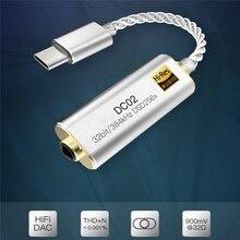 Portatile DC01 DC02 Amplificatore per Cuffie Adattatore per Ibasso DC01 DC02 Dac Usb per Android Smartphone Tablet