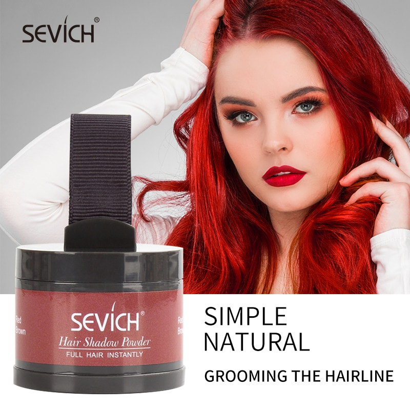 Hair Fluffy Powder Sevich WaterProof Hair Line Powder Root Touch Up Edge Control Cover Up Instant Ha
