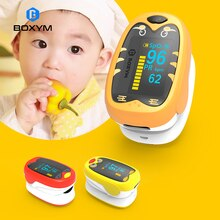 BOXYM Baby Finger Pulse Oximeter Pediatric Oximetro De Dedo SpO2 PR OLED Rechargeable Children kids