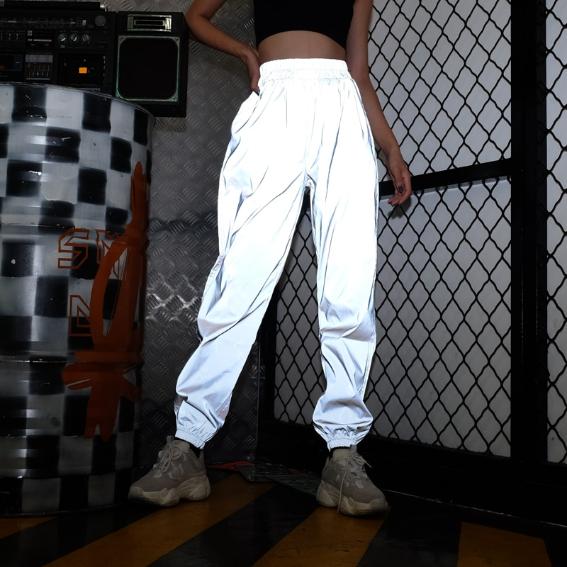 Женские спортивные штаны, свободные штаны для бега в стиле хип-хоп, свободные штаны для бега