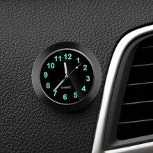 Car Clock Luminous Automobiles Internal Stick-On Mini Digital Watch Mechanics Quartz Clocks Auto Orn
