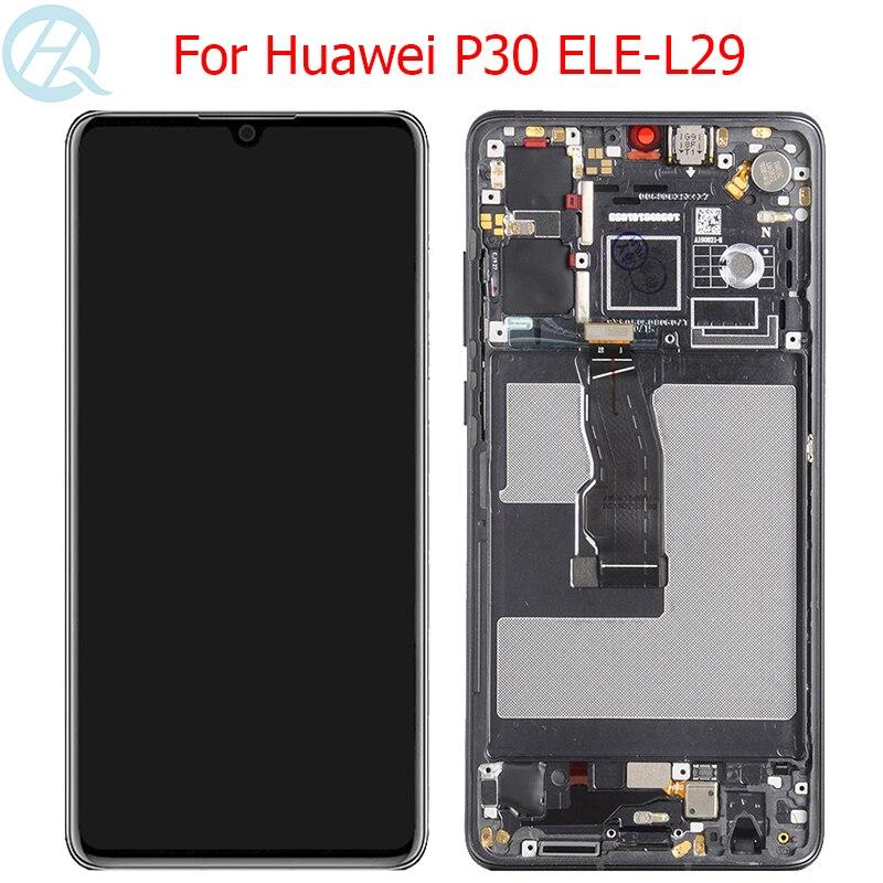 الأصلي OLED عرض لهواوي P30 LCD مع الإطار اللمس شاشة 6.1