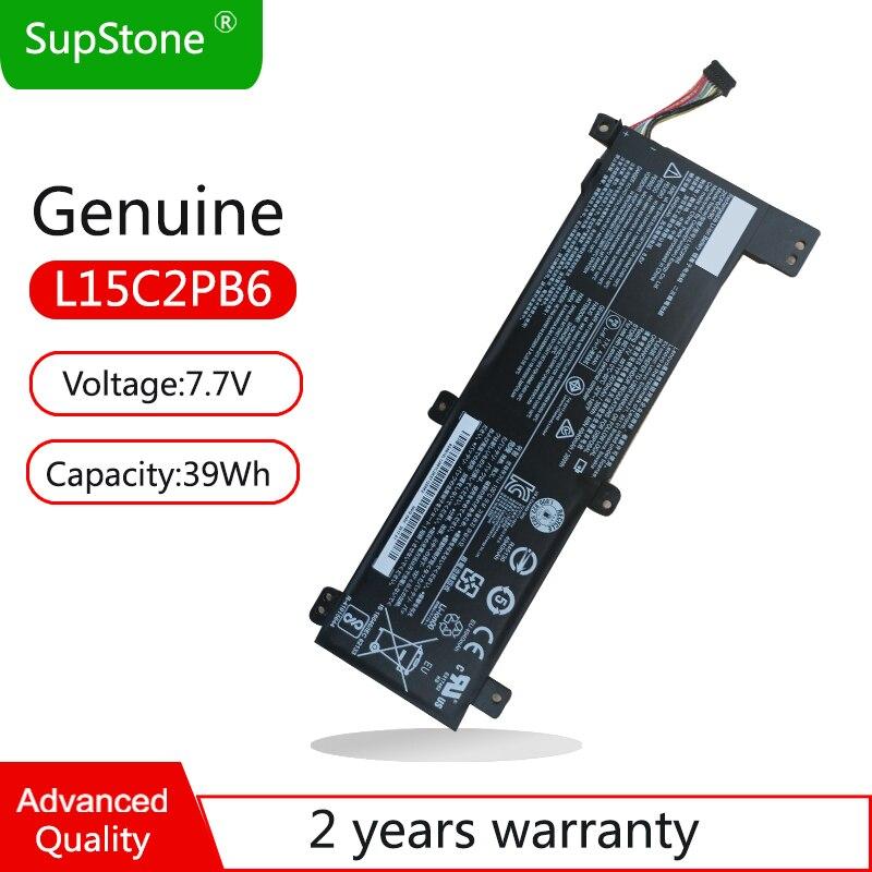 SupStone-بطارية كمبيوتر محمول أصلية L15C2PB6 ، لجهاز Lenovo IdeaPad 310-14ISK ، 310-14IAP ، 310-14IKB ، L15L2PB2 L15C2PB4 L15M2PB4 L15C2PB2