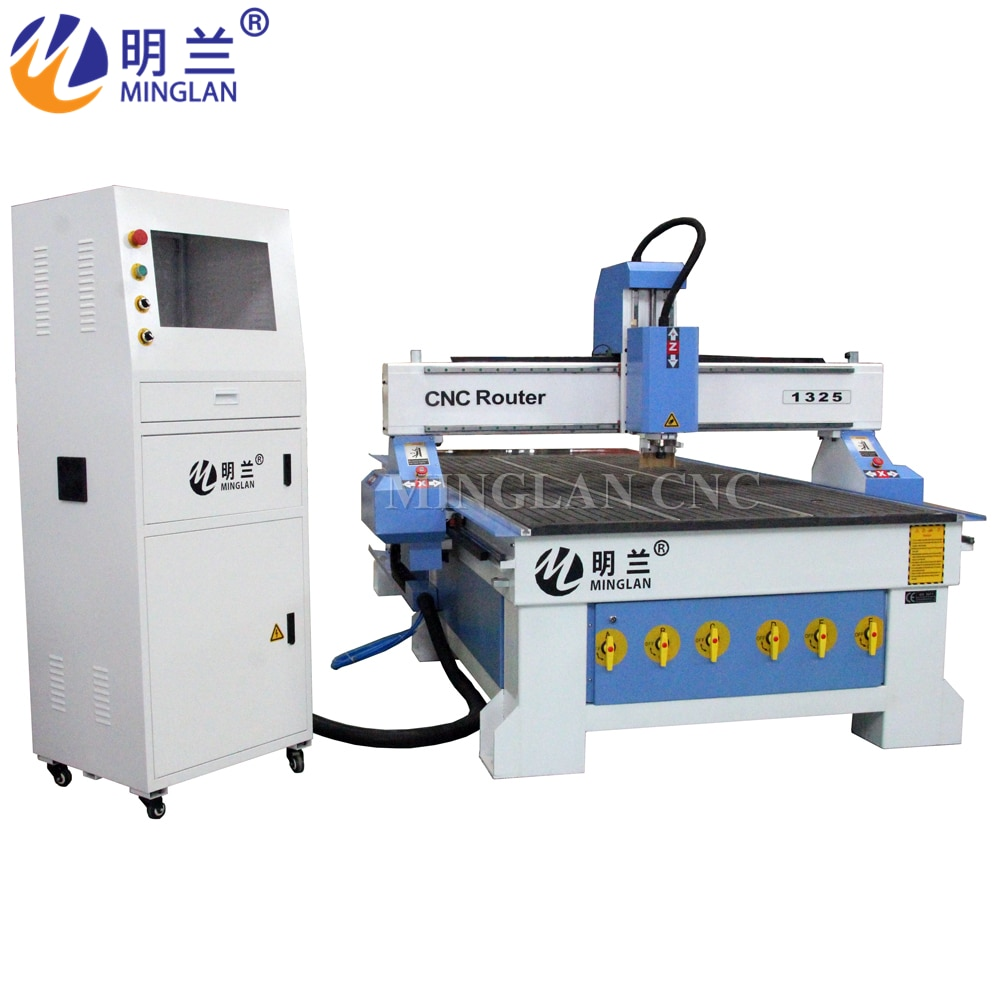 Low price wood CNC-Router machine Aluminium table 1325