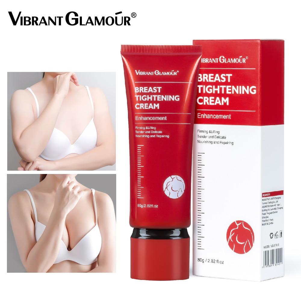 VIBRANT GLAMOUR Breast Tightening Cream Bust Enhancement Promote Boobs Lifting Breast Fast Growth Fi
