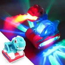 Électrique marche dinosaure musique éclairage universel ingénierie véhicule pelle camion voiture enfants cadeau jouet