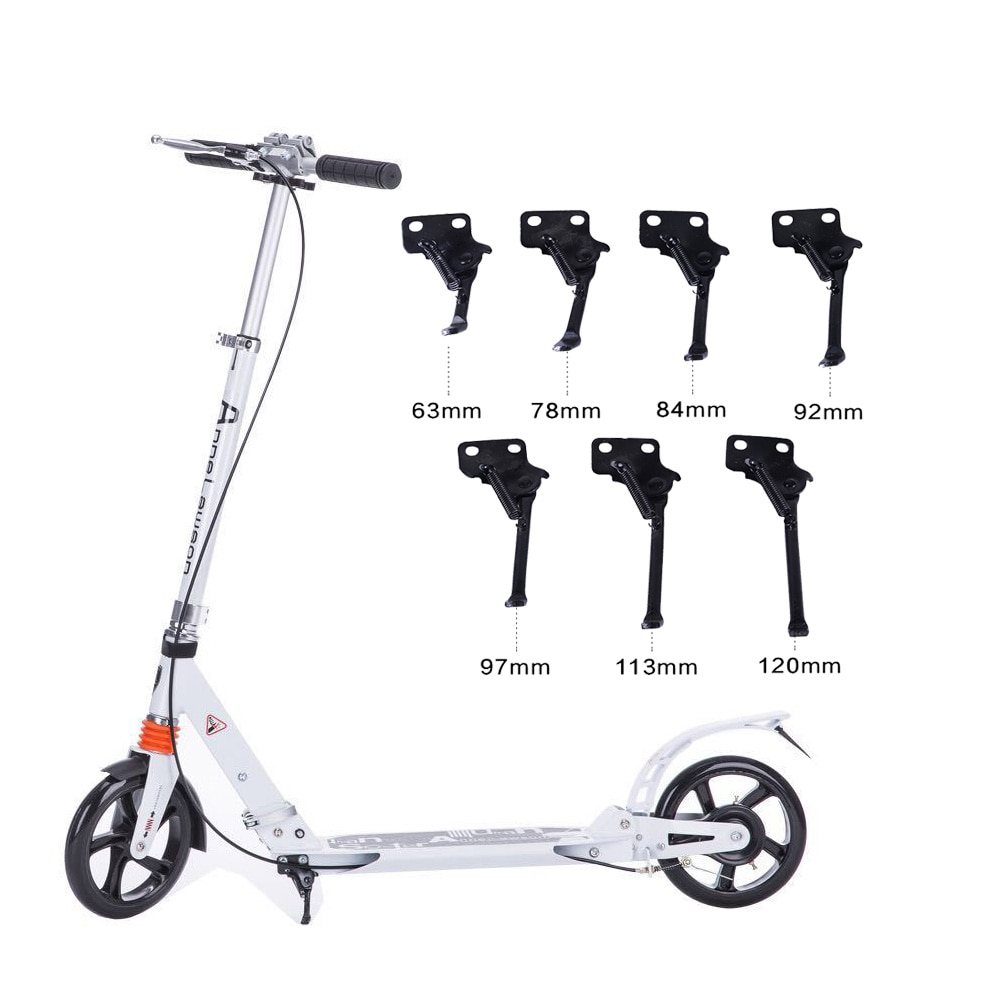 Wholesale Electric Scooter Foot Support 63/78/84/120mm Suitable Most Scooter Scooter Stand Scooter L