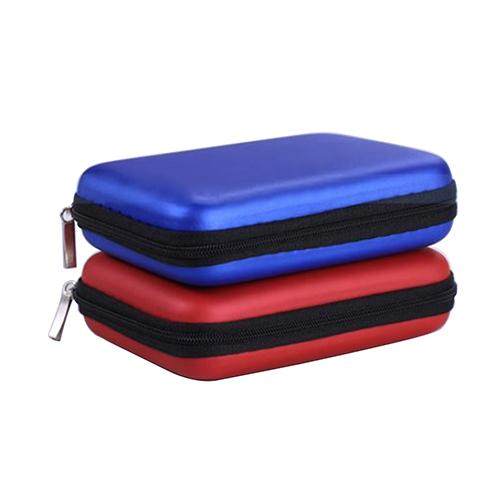 HDD Bag 2.5 inch External USB Hard Drive Disk Carry Mini Usb Cable Case Cover Pouch Earphone Bag for PC Laptop Hard Disk Case