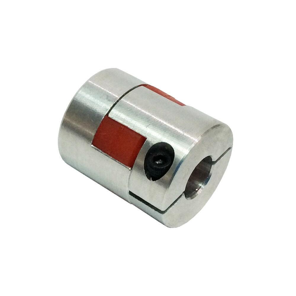 CNC Plum-style Jaw Shaft Coupling D25 L 30 Flexible Coupler Bore 5-10mm CNC Flexible Coupling Shaft Coupler Motor Connector