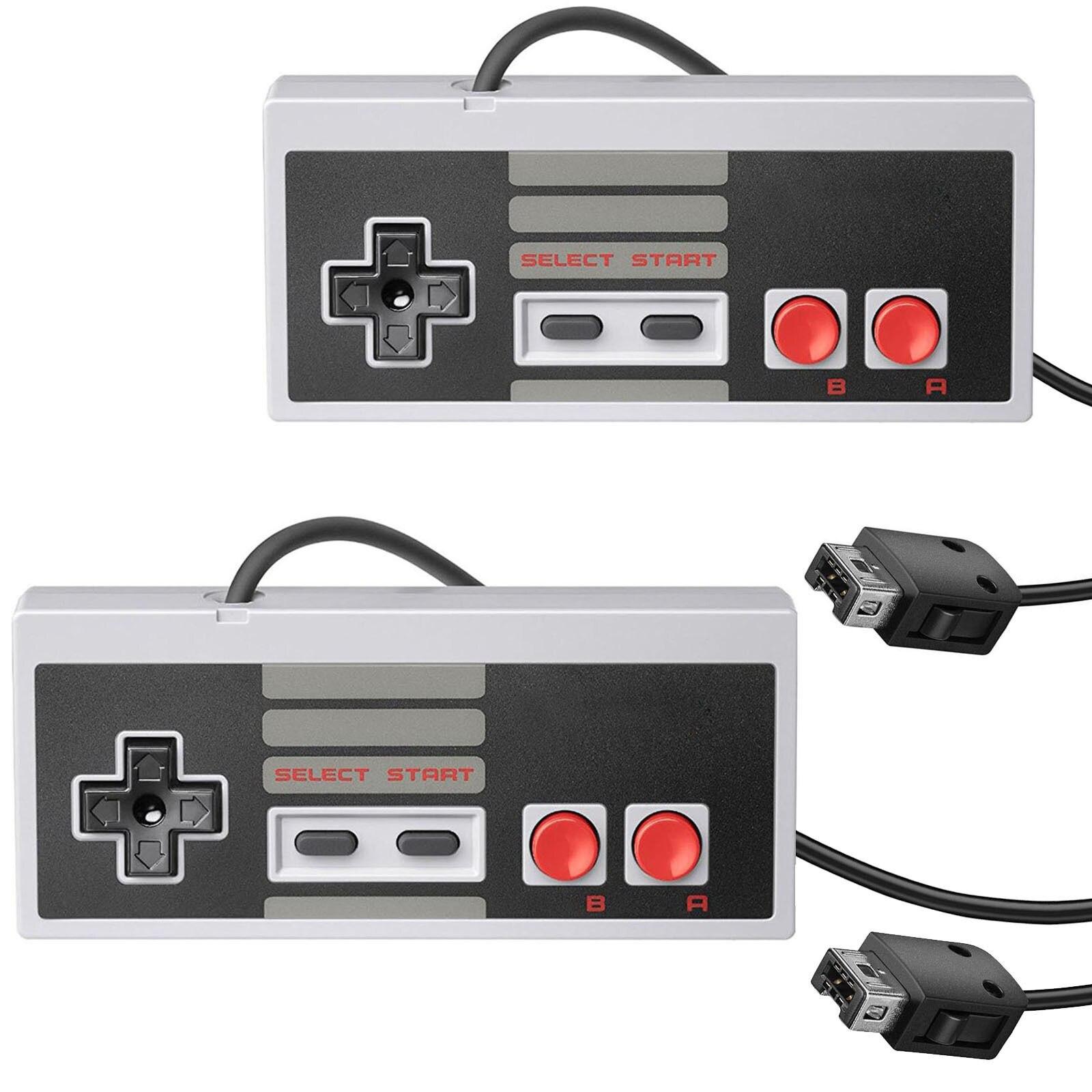 2 Pack Controller Für Nes-004 Original Nintendo Nes Vintage Konsole Verdrahtete Gamepd