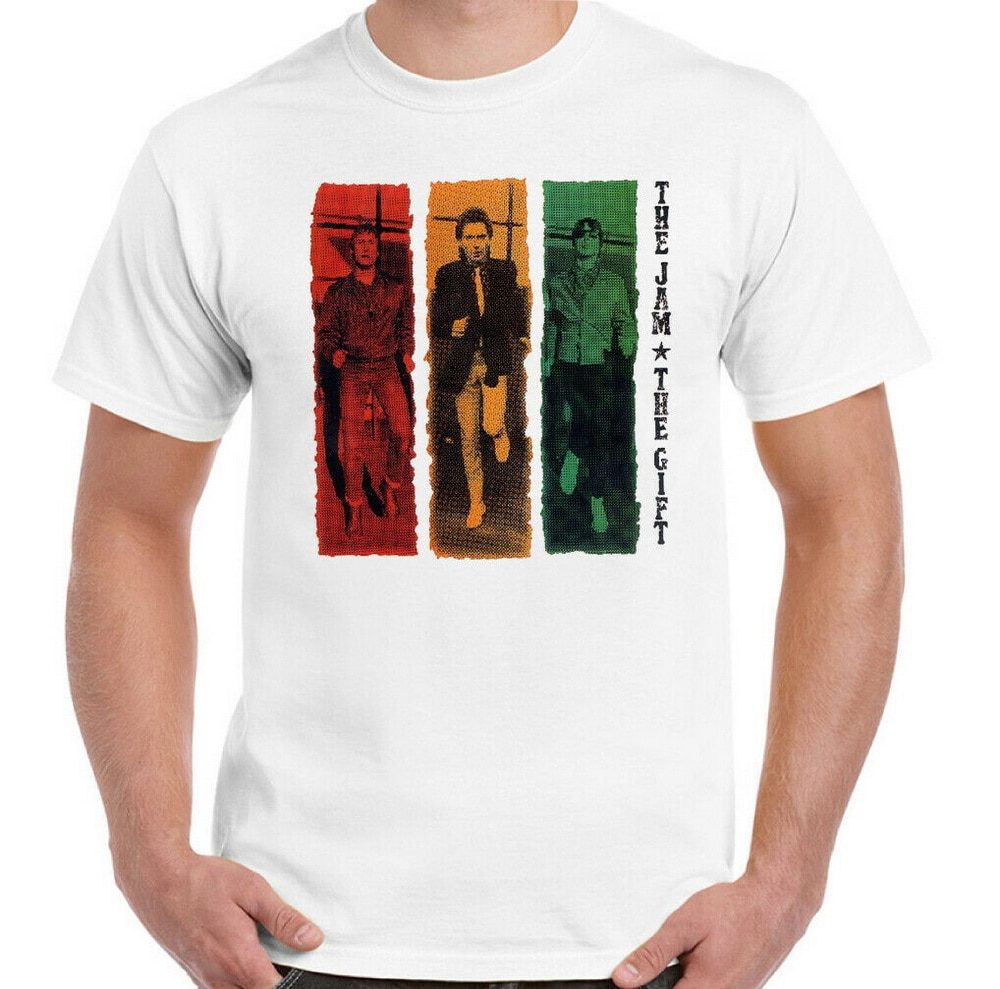 El Jam Tops camiseta para hombre regalo Paul Weller afiche de guitarra Unisex arte cuello redondo Camiseta