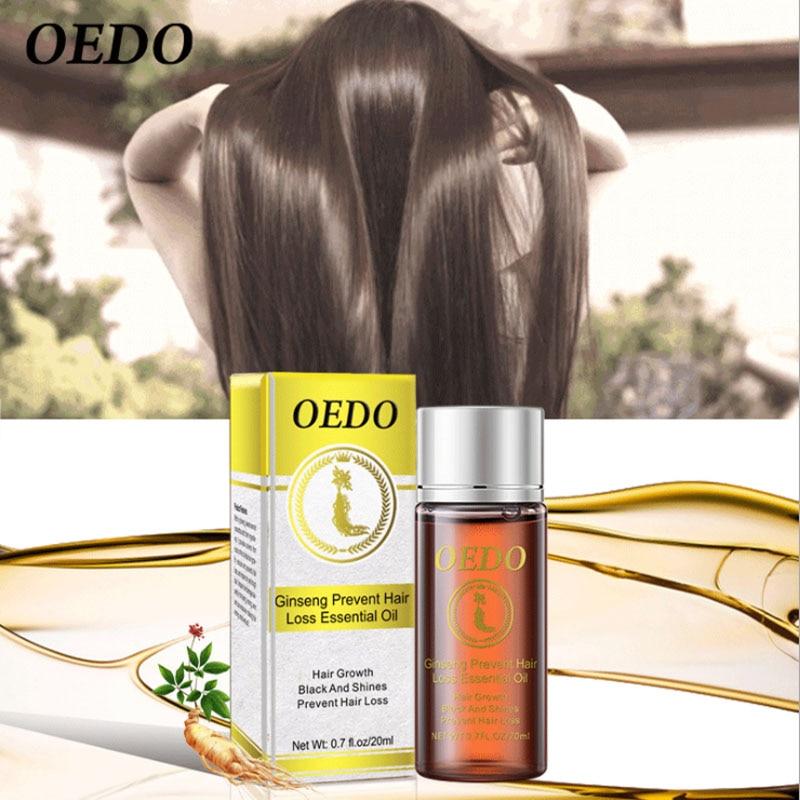 OEDO Ginger Hair Growth Essence Prevents Hair Loss Thicker Treatment Essential Oil Repair Hair Loss