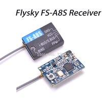 Flysky FS-A8S 2,4G 8CH Mini Empfänger mit PPM ich-BUS SBUS Kompatibel Turnigy Evolution FS i6 FS i6S I6X Für RC FPV Qaudcopter