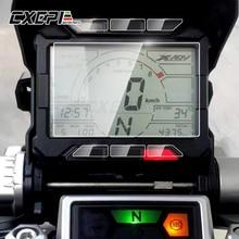 2 conjuntos de acessórios da motocicleta velocímetro filme protetor painel etiqueta da tela para honda X-ADV750 xadv 750 2017-2018