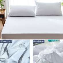 6 Sizes Mattress Protector Waterproof Breathable Bed Cover Sheet Pad Premium Hypoallergenic Bedding