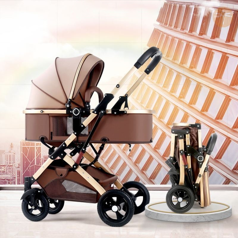 Bolina 3 in 1 Baby Stroller High Landscape Carriage Light Newborn Pram Shock Proof Two Way 2 in 1 Kid Car Baby Comfort 2021 enlarge