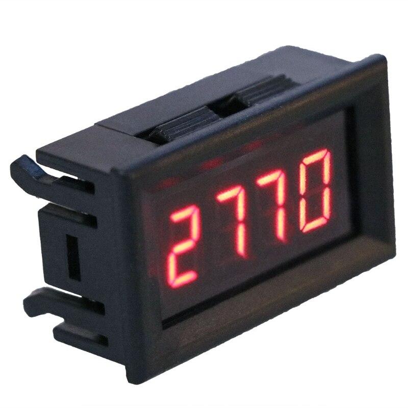 2020 nuevo 2 en 1 LED tacómetro manómetro RPM voltímetro Digital para velocidad de rotación del Motor automático