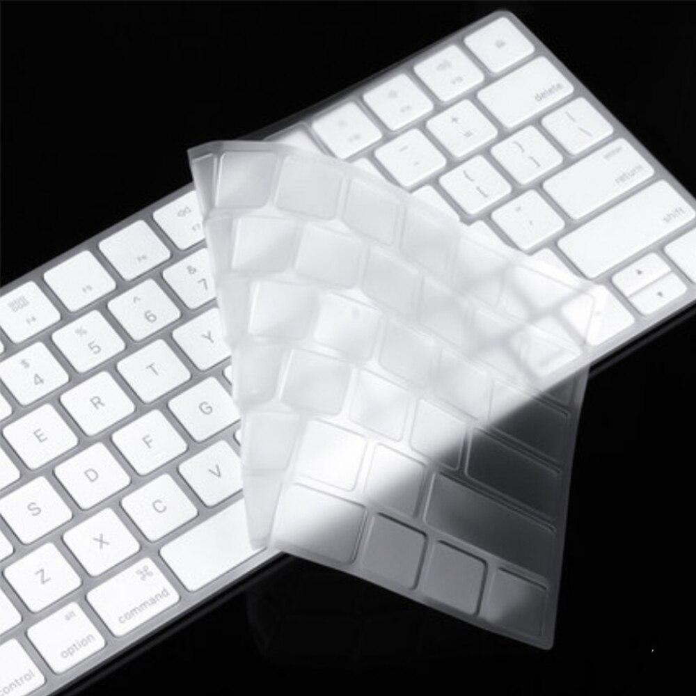 Teclado mágico capa de teclado de silicone a1644 a1314 a1243 capa protetor de pele para apple imac teclado com chave número a1843