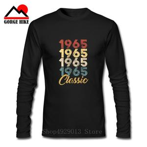 2019 Hot Summer New Classic 1965 Birthday Gift T Shirt Men Cotton Long Sleeve Limited Edition 1965 T-shirt Tops Tee Man Clothing