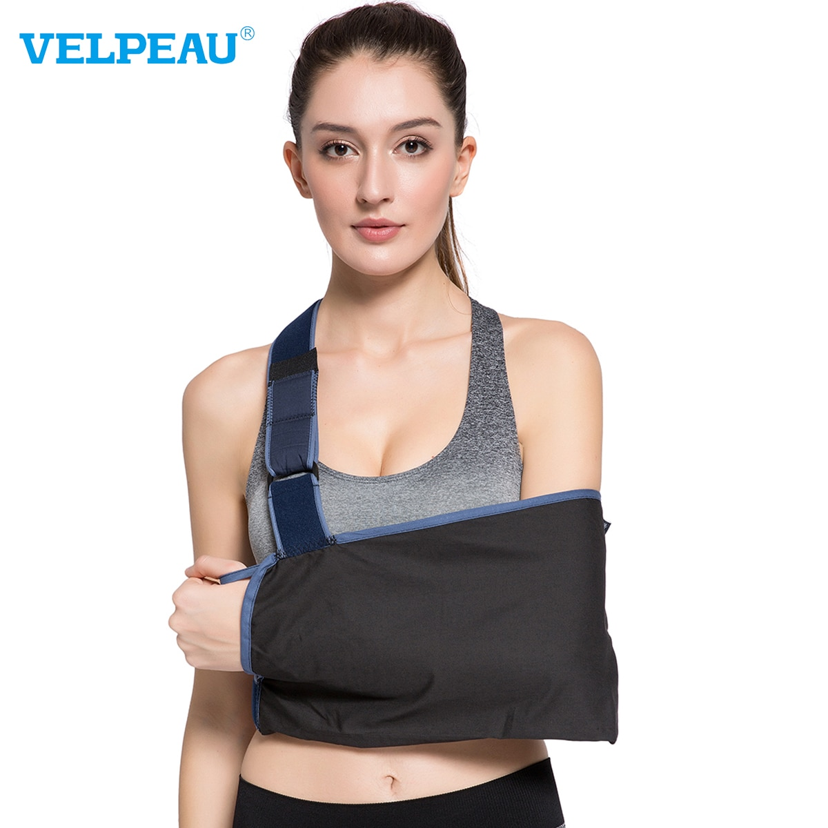VELPEAU Lightweight Arm Sling for Fractures Bone Medical Arm Support Brace for Hand Dislocations Wit