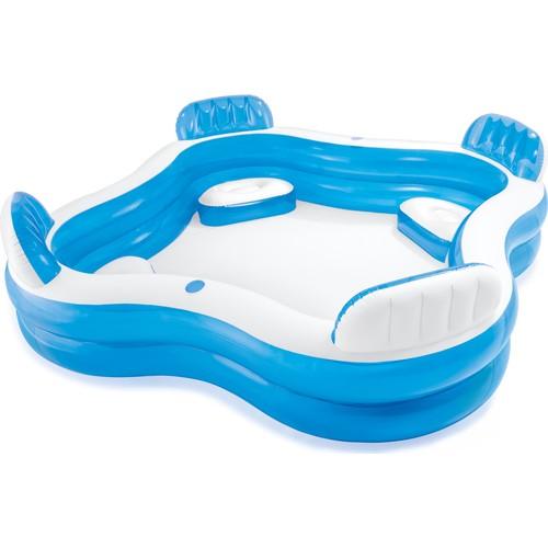 Swim Center Family Lounge Pool 56475 / İntex Kolltuklu Inflatable Pool