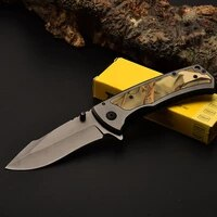 x67 440 folding knife outdoor camping 57hrc high hardness knife field rescue portable tactical knifes