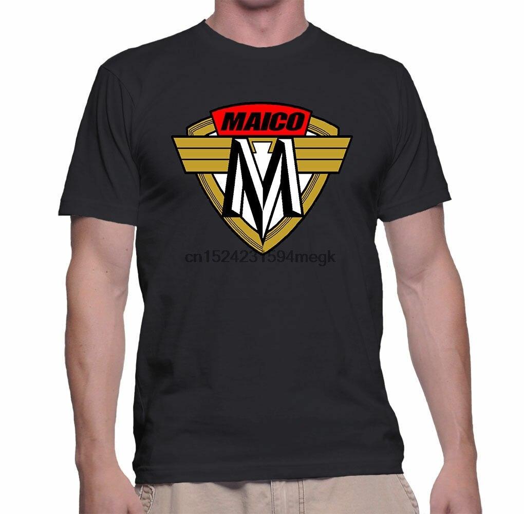 Maico Vintage alemán Motocross Endoro Racing negro Camiseta talla S-5XL