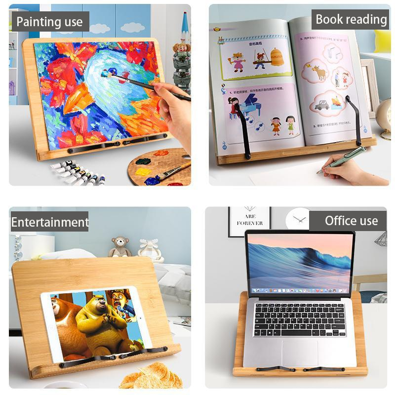 Wooden Easel Desktop Drawing Board Box Oil Paint Accessories Art Supplies for Art Students Portable Mini Desk enlarge
