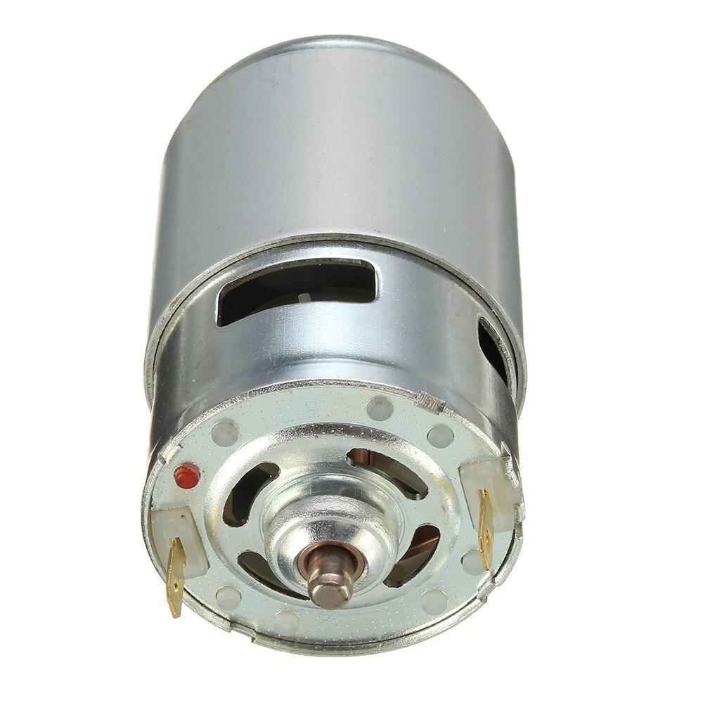 775 dc motor dc 12 v 36 v 3500 9000 rpm rolamento de esferas grande torque de alta