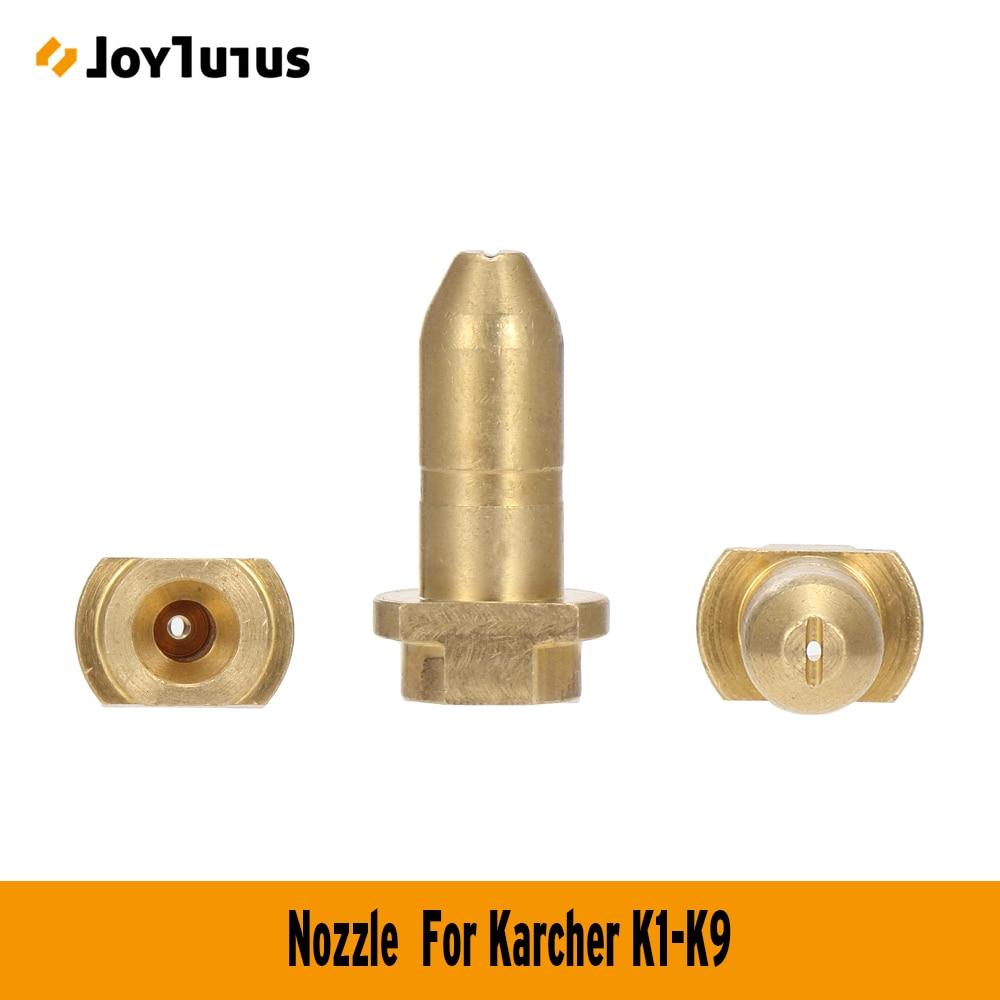 10 Uds K5 adaptador de latón boquilla para Karcher K1-K9 Spray arandela de varilla accesorios de repuesto K1 K2