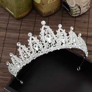 Crystal Bridal Crown Wedding Tiara Hair Jewelry Accessories