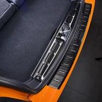 car rear bumper sticker trunk guard protective door sill cover trim for mini cooper f55 f56 car accessories outer inner