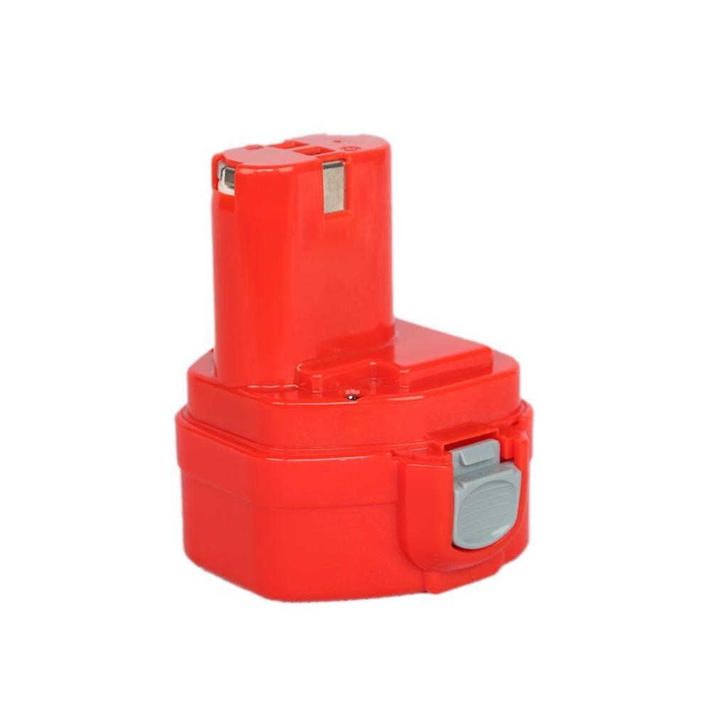 2 unids/lote 12v 3.0Ah Ni-MH batería de repuesto para la batería Makita 1220 PA12 1222 de 1233 1233SA 1233SB 1235 1235A 12 1234, 192681-533S 1233SB