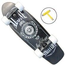 Skate Deck Cool Soudoor Sport Penny Board Skate para adultos niños y niñas principiantes bailando tablas de Skate largas de madera de arce