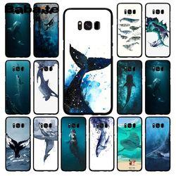 Babaite Killer Whales акварельный принт океанские животные чехол для телефона для samsung Galaxy S10E S7 Edge S9 S8 S10plus S6 S10Lite S5 M10