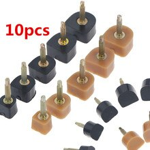 10pcs=5pairs Women Shoes High Heel Repair Tips Pins Heel Stoppers Protect Dowel Lifts Replacement Fo
