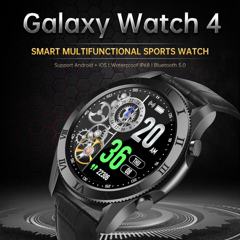 2021 جديد 1.35 بوصة شاشة بلوتوث ساعة ذكية النساء الموسيقى الرياضية لسامسونج غالاكسي ساعة 4 Amazfit ساعة ذكية الرجال أبل ساعة